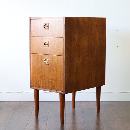 Vintage Danish Teak File Cabinet