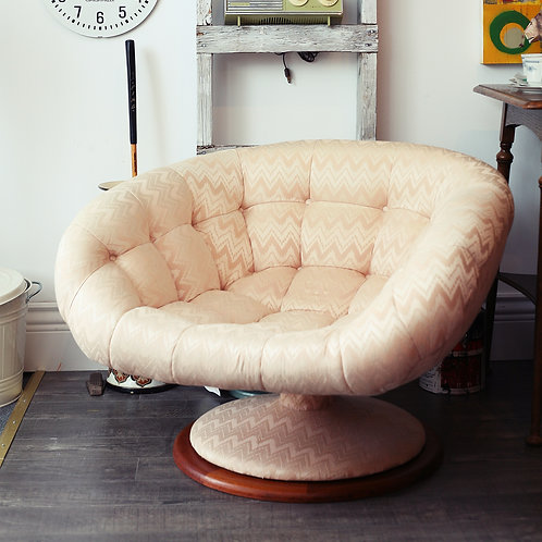 R. Huber & Co. Tufted Lounge Chair