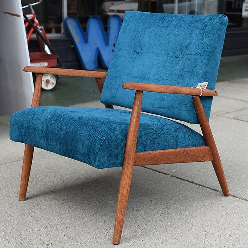 Vintage Walnut Easy Chair