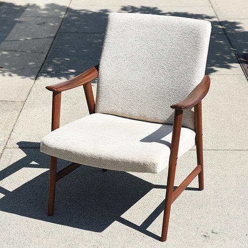 Mid-Century Afrormosia Easy Chair