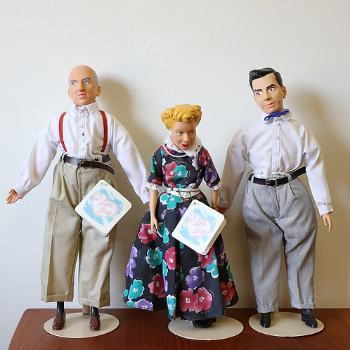 I love Lucy Dolls by CBS Presents & Hamilton Gifts 1988