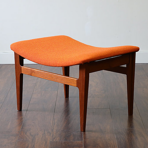 Danish Modern Teak Foot Stool by Finn Juhl for France & Son