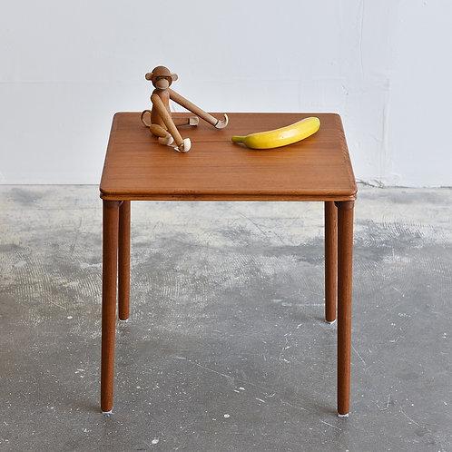 Vintage Teak Accent Side Table