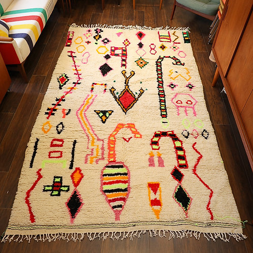 One-of-a-kind Handmade Wool Rug