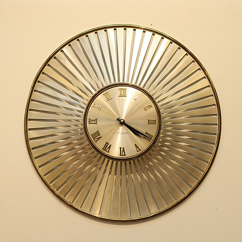 Vintage Wesclox Wall Clock
