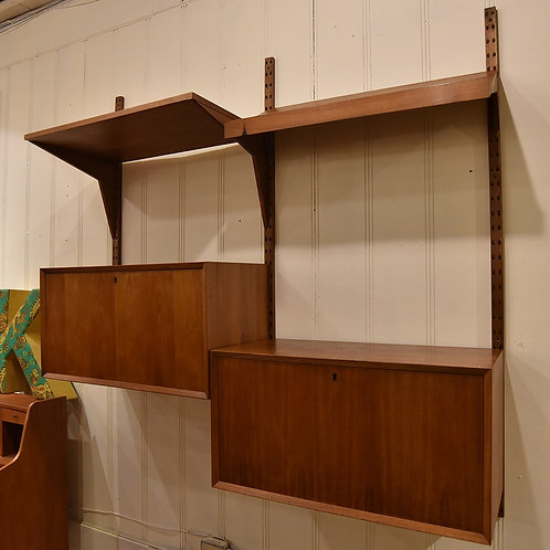 Danish Teak Royal Shelving System By Poul Cadovius