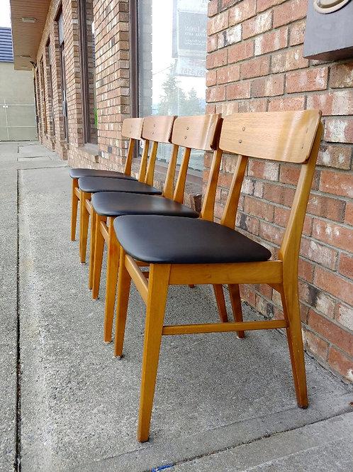 Set of 6 Danish Modern Farstrup Dining Chairs
