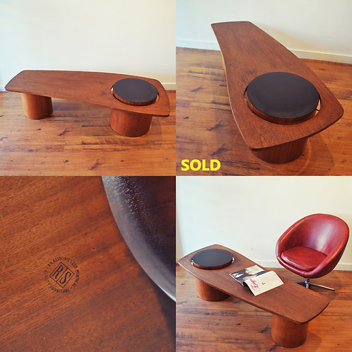 MCM Teak Coffee Table by RS Associates, Canada
