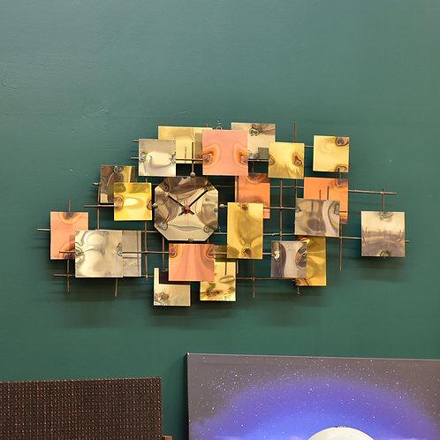 Vintage Metal Wall art Clock