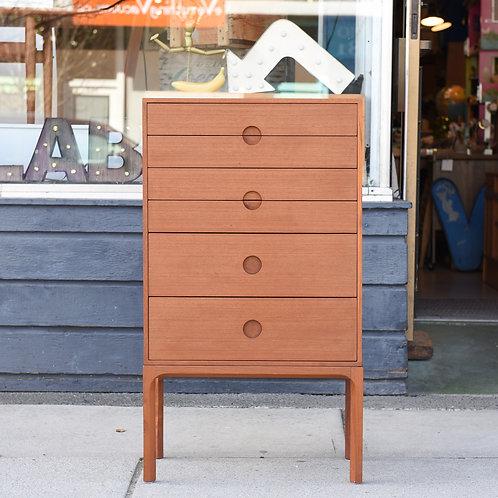 Danish Modern Teak Dresser by Kai Kristiansen for Aksel Kjersgaard