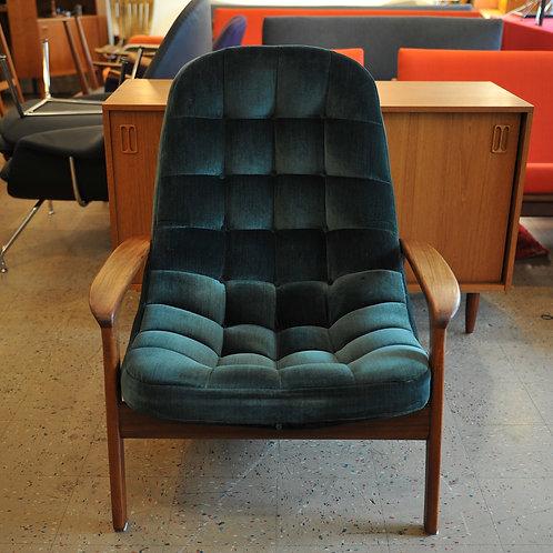 R. Huber & Co. Danish Modern Lounge Chair