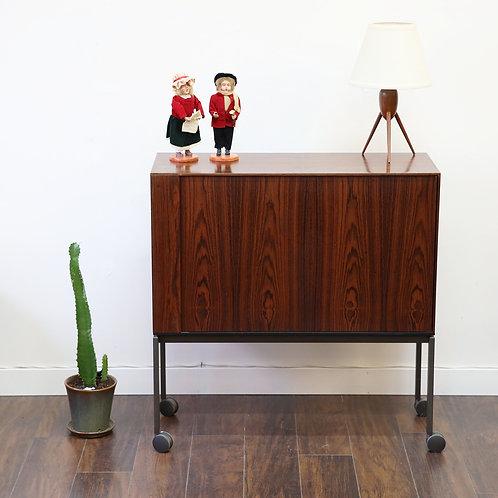 10% Off, Bang & Olufsen Vintage Rosewood Bar Cabinet