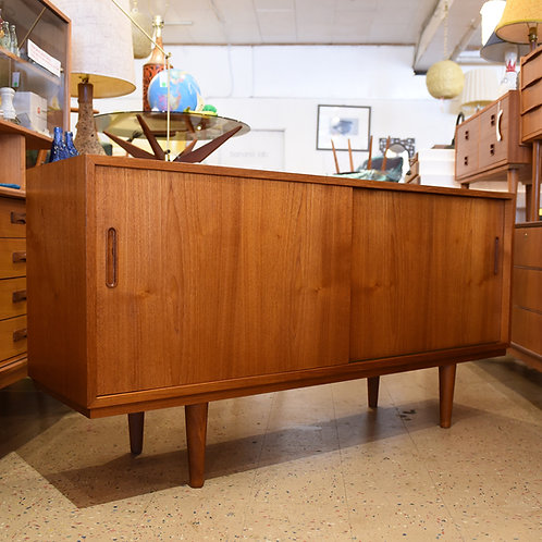 Danish Modern Teak Sideboard/Credenza by Carlo Jensen for CHO