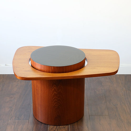 Canadian Mid Century Teak Side Table by RS Associates for Expo 67'