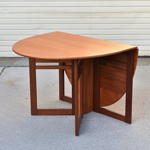 30%OFF, Condo Size MCM Folding Bistro/Dining Table