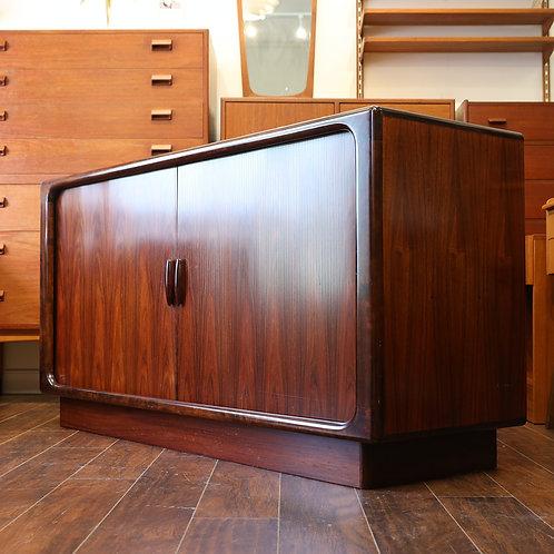 Danish Modern Rosewood Credenza by Dyrlund