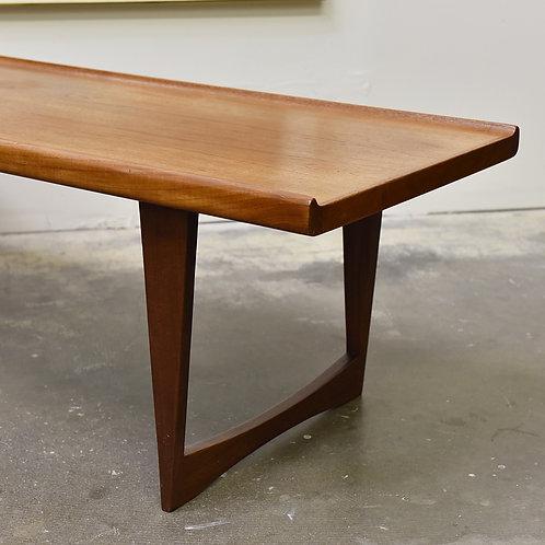 Danish vintage teak table in good condition