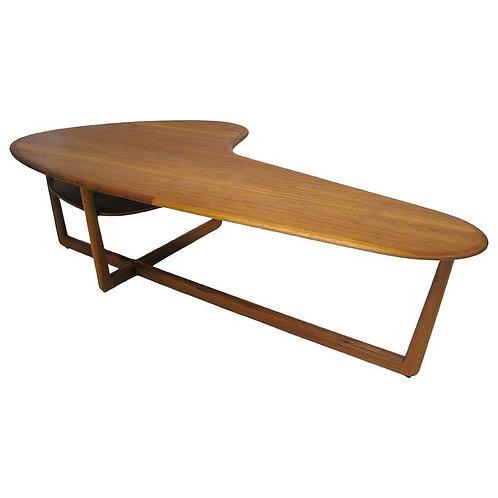 Mid Century Modern Boomerang/Kidney Shaped Coffee Table