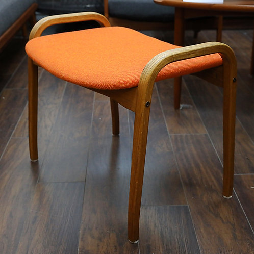 Vintage Lamino Foot Stool by Swedese