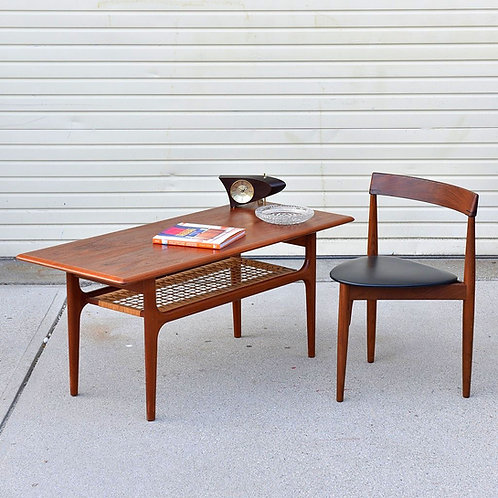 Rare & Praictial Danish Modern Coffee table by Trioh