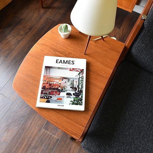 Mid Century Danish Modern Teak Side Table by Fritz Hansen