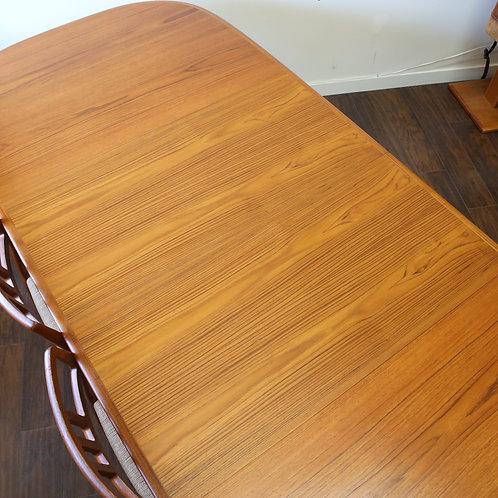 Quality Danish Modern Dining Table by Skovmand & Andersen