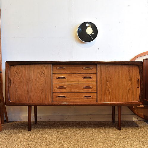 Danish Modern Rosewood Sideboard by H.P. Hansen