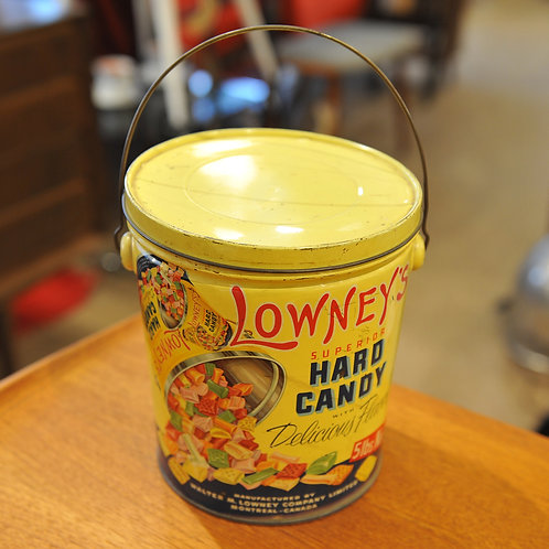 Vintage Lowney's Hard Candy Tin