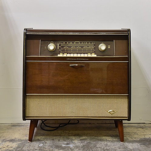 Vintage Stereo Cabinet by Grundig