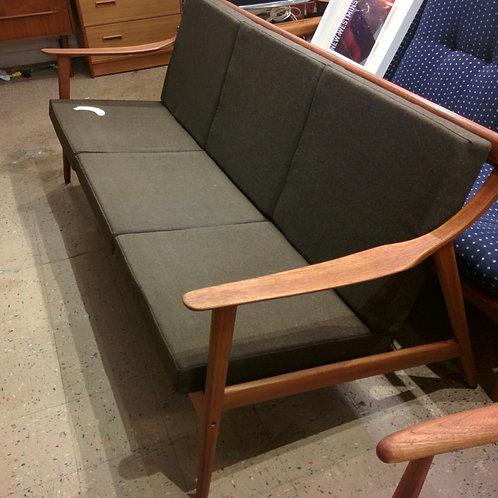Danish Modern Sofa and Lounger Set by Arne Hovmand-Olsen for Mogens Kold