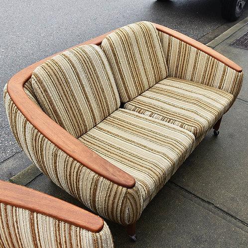 R.Huber & Co. Love Seat & Lounger Set