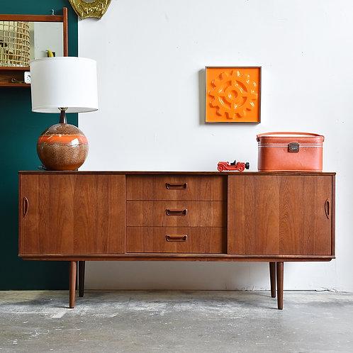 Danish Modern Teak Sideboard by Tibergaard