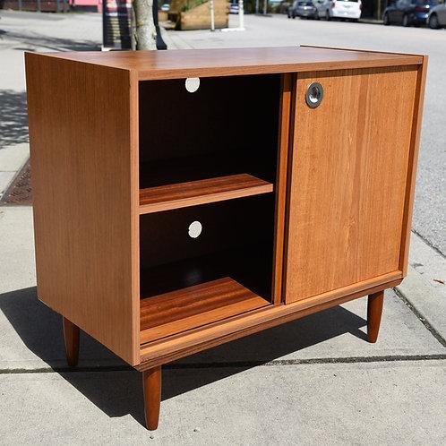 Mini Danish teak credenza, Cabinet