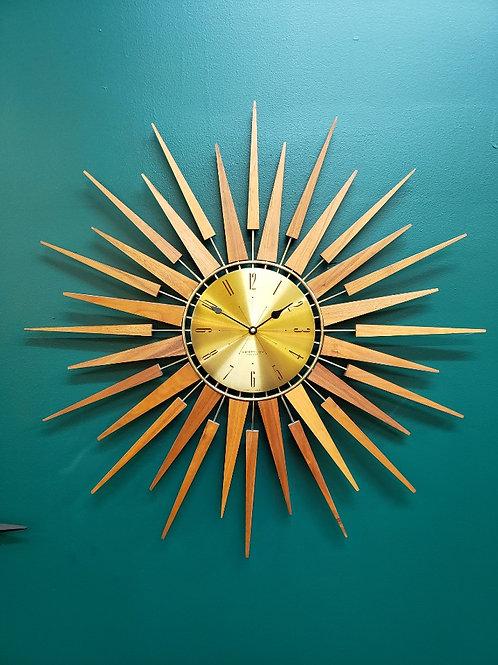 Westclox Fabulous Sunburst clock.