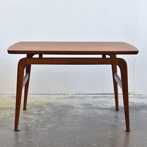 Vtg Mid-Century Modern Solid Teak Table