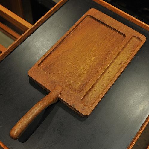 Danish Teak Cutting Board with Handle