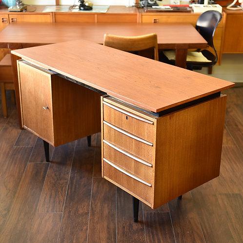 Vintage Mid-Century Modern Teak Desk
