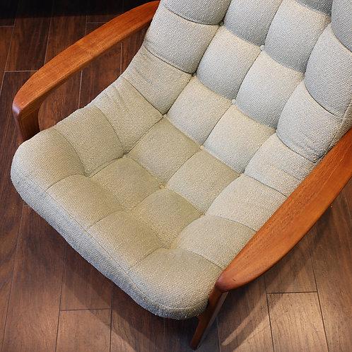 Vintage Canadian MCM Teak Lounge Chair by R. Huber & Co.