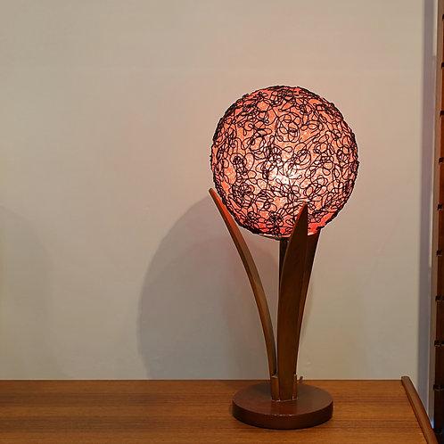 """Vintage Mid-Century """"Flower"""" Spaghetti Lamp"""