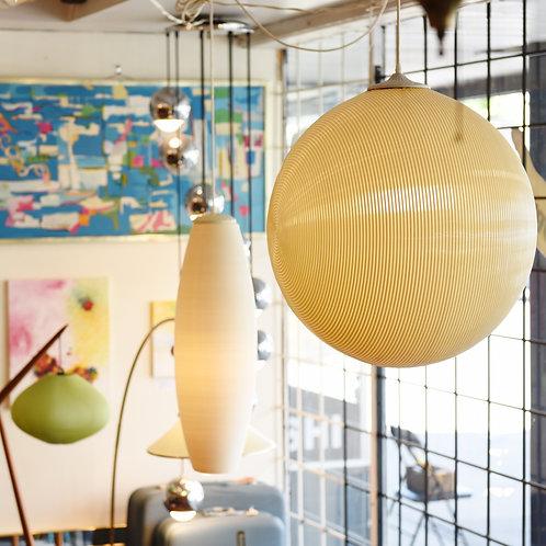 Vintage BIG MCM Hanging Lamp