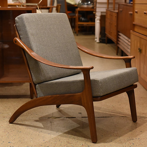 Arne Hovmand Olsen Teak Easy Chair by Komfort Denmark