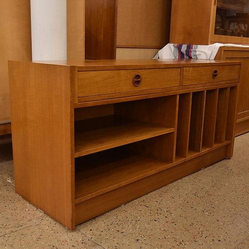 Vintage Teak Extending Record Cabinet/TV Stand/Sideboard