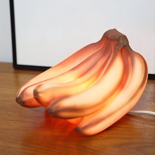 Vintage Unique Glass Banana Lamp