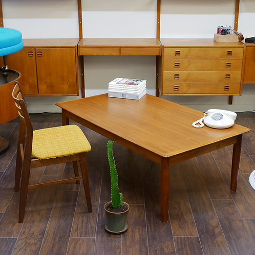 30%OFF, Rare huge sized, Danish Teak Coffee Table by S. Burchardt-Nielsen