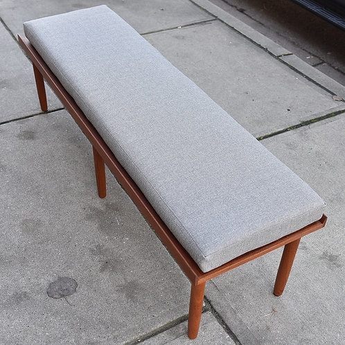 Danish Modern Teak Bench / Table by Fabian