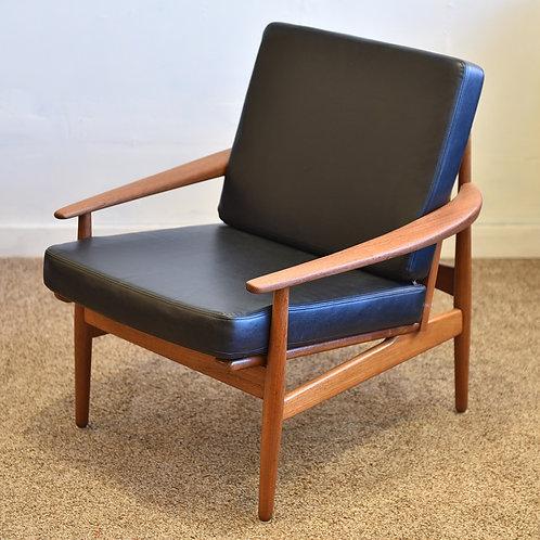 Danish Modern Teak Easy Chair