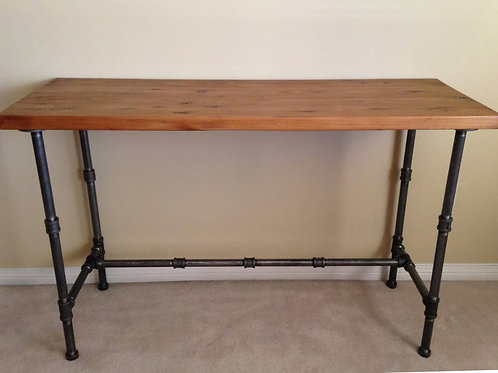Hand made Industrial Sofa, hall way table