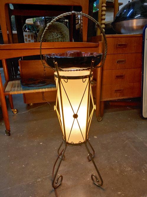 Vintage Ashtray Floor Lamp