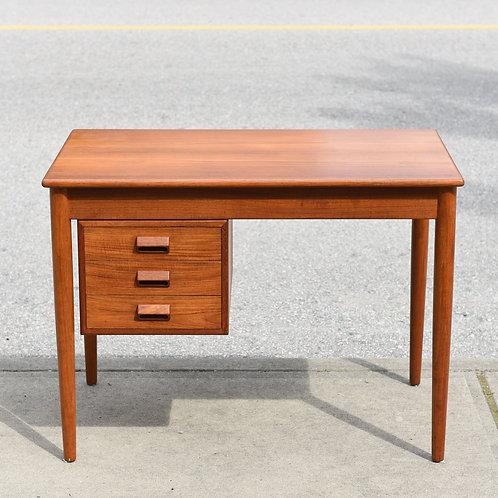 Danish Modern Teak Desk by Borge Mogensen for Soborg