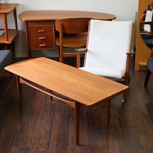 Danish Teak FD 503 Coffee Table by Tove & Edvard Kindt-Larsen for France & Son